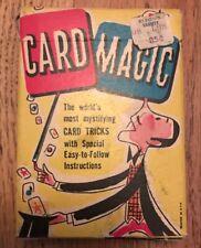 "Vintage Ed-U-Cards ""Card Magic"" Card Tricks"