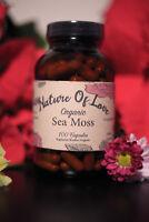 Sea Moss / Irish Moss Capsules - 100% Organic, Natural & Wildcrafted - Dr Sebi🌱