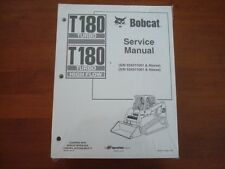 NEW GENUINE BOBCAT T180 TRACK LOADER SERVICE MANUAL  #6904126  BK59