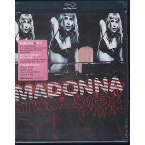 Modonna BRD Blu Ray CD Sticky & Sweet Tour Warner Bros 9362-49675-4 Sigillato