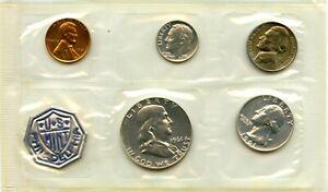 1961 Philadelphia Proof Coin Set Original Packaging And COA