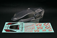 1/8 Clear Body Shell Cover #OP-0031 (LLJSTORE) HOBAO Hyper SSe US Seller USPS