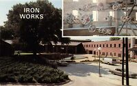 COLUMBUS GEORGIA~CIVIL WAR IRON WORKS~RENOVATED~NOW CONVENTION CENTER POSTCARD