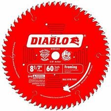 "Freud-Diablo 8-1/2"" 60 Tooth Fine Finishing Miter Saw Blade with 5/8"" Arbor"