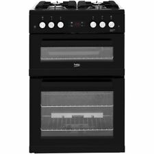 Beko KDG653K Free Standing Gas Cooker with Gas Hob 60cm Black New