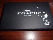 NWT Coach x Peanuts Charlie Brown Bag Charm Limited Edition Gift Box 20926