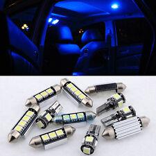 10 Blue Canbus Interior LED Light Package Kit For 05-10 Volkswagen Jetta MKV MK5