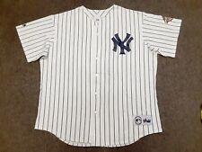 VTG Y2K 2001 World Series MLB New York Yankees Derek Jeter Jersey T Shirt XL USA