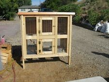 23 page framing plan for Deluxe Two Story Rabbit Hutch w/nest box, plan only