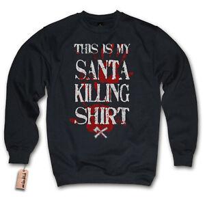 Pullover - Babbo Natale Killing Maglia - Natale Sweater S M L XL XXL