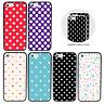 Polka Dots Bumper Case for Apple iPhone 5 5s SE 5se 6 6s 7 8 Plus X XS Cover