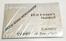 1991 TOYOTA COROLLA OWNERS MANUAL USER GUIDE BOOK