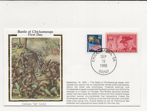 US Army Comm/FDC -  Civil War - Battle of Chickamauga 1st Day - 1988 (050)Z