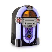 B-stock Jukebox Machine Radio CD Player FM Tuner USB SD Mp3 LED Retro Sound
