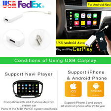 1X USB Carplay Dongle For iPhone Android WinCE Car Radio Music Navigation Player