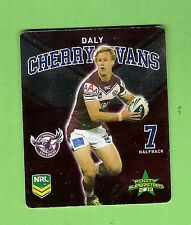 TIP TOP NRL 2013 RUGBY LEAGUE FOOTY SUPERSTARS TAZO #11 DALY CHERRY-EVANS, MANLY