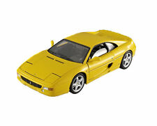 1:18 scale - Hot Wheels ELITE - Ferrari F355 Berlinetta - Yellow - Diecast