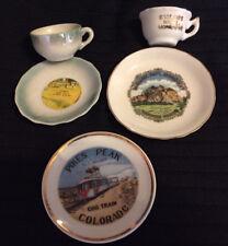 30 Qty Vintage tiny tea cups souvenir Misc. States & Places
