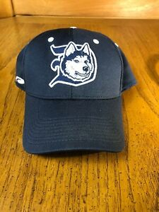 Duluth Huskies NorthWoods League Hat Cap Minnesota Embroidered Logo Fitted S/M🐶