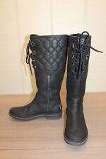 UGG Elsa Deco Quilt Women's Rain Boots - Black - Size 7.5