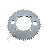 Pocket Bike 25H 54mm 55T Rear Chain Sprocket For 47 49 cc Mini ATV Quad Scooter