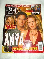Buffy The Vampire Slayer UK Magazine Issue 24 August 2001