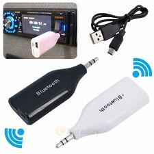3.5mm AUX Car Bluetooth 4.2 Receiver Speaker Music Streaming Audio Adapter Mic