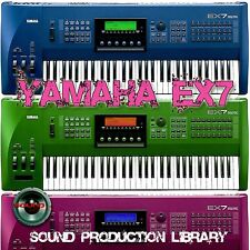 YAMAHA EX7 Large Sound Library over 1,800 Original Samples on CD