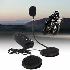 500M BT Bluetooth Motorcycle Helmet Intercom Headset V2 Interphone for 2 Riders