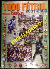 DON BALON EXTRA TODO FUTBOL 2001-2002  LIGA ESPAÑOLA