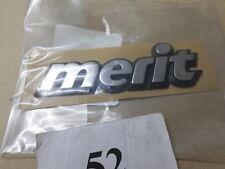 "Emblem/Logo ""MERIT"" Opel ASTRA F 90444386/177859 neu original OPEL"