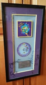 The Wiggles - Wiggly World autographed authentic framed multi-platinum CD sales