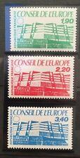 3 timbres de service France 1986 YT 93 à 95 neufs** sous plastiques