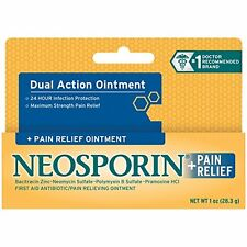 3 Pack - Neosporin Maximum Strength Antibiotic + Pain Relief OINTMENT 1oz Each
