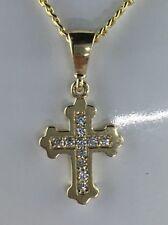 Goldkette mit Kreuz 585 Gold