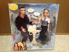 Barbie My Scene Night On The Town Kennedy & River Doll Playset New Rare