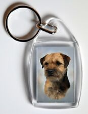 Border Terrier Key Ring by Starprint - No 3