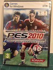 Konami Pro Evolution Soccer 2010 juego para PC