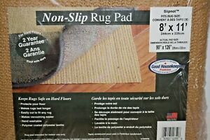 8' x 11' Non Slip Rug Pad Slipnot Gripper Area Strong Grip for Hardwood Floor