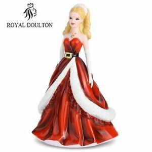 Royal Doulton Figurines HOLIDAY BARBIE 2011 Limited Edition 3500 HN5531 New