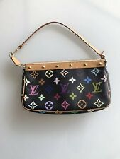 eca7d9fe8531c Louis Vuitton Pochette Monogram Multicolor Canvas Clutch  Top