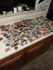 Vintage Boy Scout Patch Lot Over 100pcs