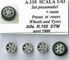 RUOTE 1/43 ALFA ROMEO 155 DTM anni 1990 TRON A110