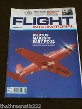FLIGHT INTERNATIONAL # 5167 - PILATUS PC-21 - DEC 2 2008