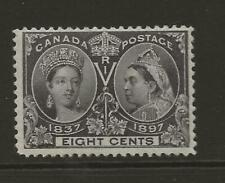CANADA SG130 8c Slate Violet QV Jubilee MINT Lightly Hinged Full Gum Cat £55