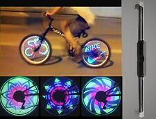 Waterproof 36 LED Colorful RGB Pattern Bicycle Bike Wheel Light Monkey New