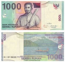Indonesia 1000 Rupiah 2009 Replacement Banknotes  P-141j  UNC