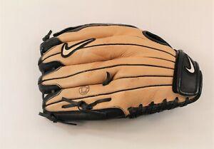 "Nike, Keystone Softball Glove, Black & Tan, 13"" Right Hand Throw"