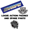 Vtg The Corps Loose Action Figures Spare Parts Accessories Lanard Toys 80s 90s
