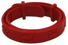 Small Red Flea Collar for Cats & Dogs 12-28cm